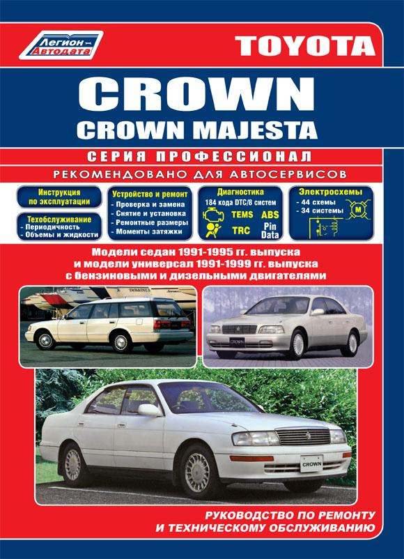 Toyota crown ремонт
