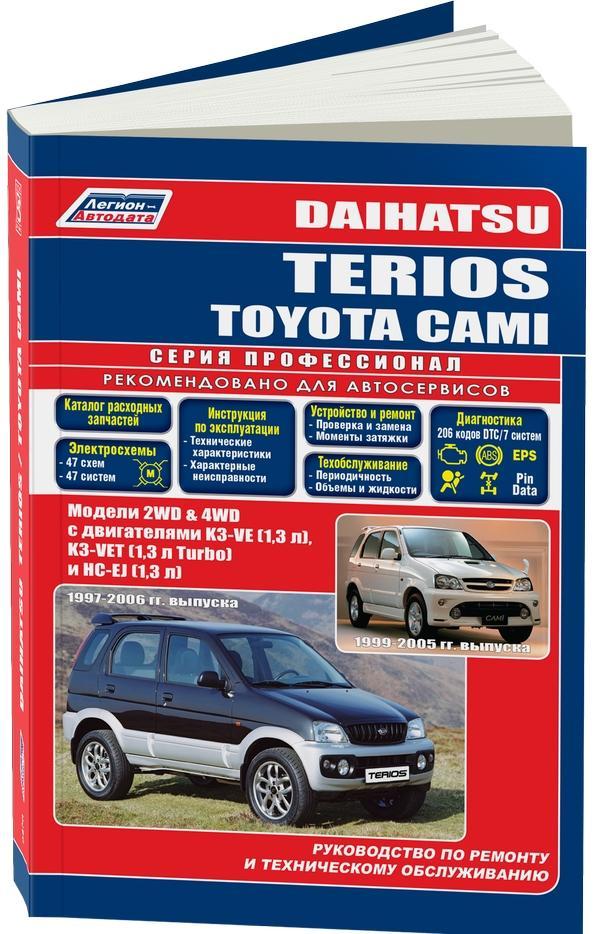 Daihatsu terios ремонт